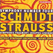 Play & Download SCHMIDT, F.: Symphony No. 4 / STRAUSS, R.: Symphonisches Fragment aus Josephs Legende by Various Artists | Napster