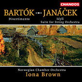 Play & Download BARTOK: Divertimento for Strings / JANACEK: Idyll  / Suite for String Orchestra by Iona Brown | Napster
