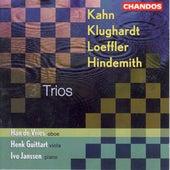 LOEFFLER: 2 Rhapsodies / HINDEMITH: Trios / KLUGHARDT: Schilflieder / KAHN: Serenade by Han De Vries