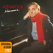 Je fais comme si by Charles Aznavour