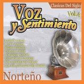 Voz y Sentimiento Norteno, Vol. 4 by Various Artists