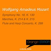 Orange Edition - Mozart: Symphony No. 18, K. 130 & Flute and Harp Concerto, K. 299 by Various Artists