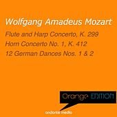 Orange Edition - Mozart: Flute and Harp Concerto, K. 299 & Horn Concerto No. 1, K. 412 by Various Artists