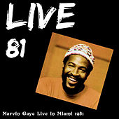 Play & Download Live 81 - Miami by Marvin Gaye | Napster