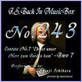 Cantata No7, Christ unser Herr zum Jordan kam, Bwv7 by Shinji Ishihara