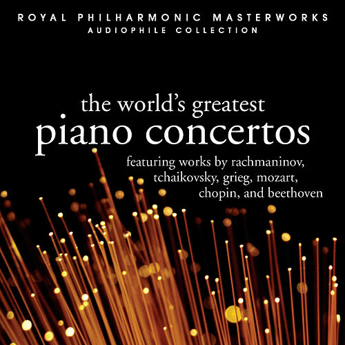 The World's Great Piano Concertos by Various Artists
