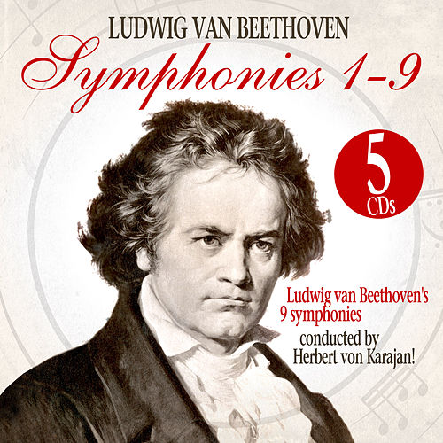 Sinfonien 1-9 / Symphonies 1-9. The Box by Philharmonia Orchestra