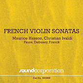 French Violin Sonatas by Maurice Hasson
