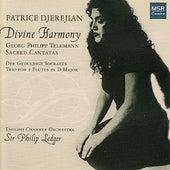 Divine Harmony - Telemann: Sacred Cantatas by Patrice Djerejian