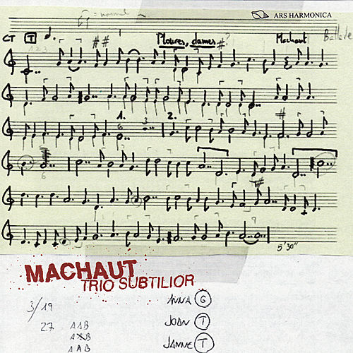 Play & Download Machaut: Trio Subtilior by Trio Subtilior | Napster