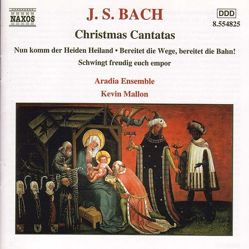 Play & Download Christmas Cantatas Nos. 36, 132 and 61 by Johann Sebastian Bach | Napster