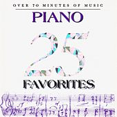 25 Piano Favorites by Various Artists