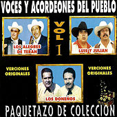 Paquetazo De Coleccion - Voces Y Acordeones Del Pueblo, Versiones Originales by Various Artists