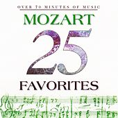 25 Mozart Favorites by Various Artists