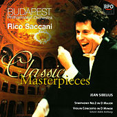 Sibelius - Symphony No 2 & Violin Concerto by Budapest Philharmonic Orchestra