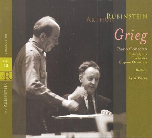 Play & Download Rubinstein Collection, Vol. 13: Grieg: Piano Concerto, Ballade & Lyric Pieces by Arthur Rubinstein | Napster