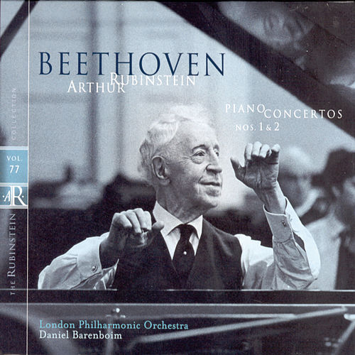 Play & Download Rubinstein Collection, Vol. 77: Beethoven: Piano Concertos Nos. 1 and 2 by Arthur Rubinstein | Napster