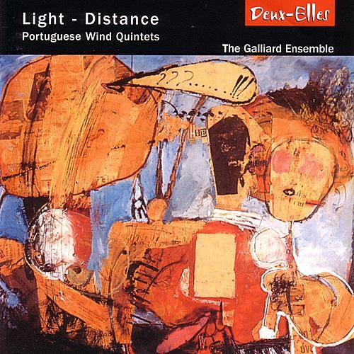 Light - Distance: Portuguese Wind Quintets by The Galliard Ensemble