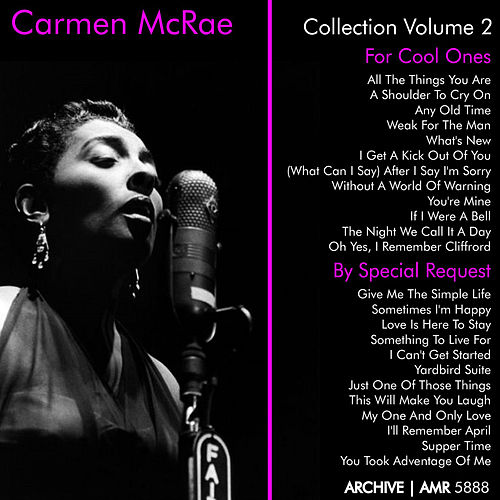 Play & Download Carmen McRae Collection, Vol. 2 (