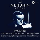 Play & Download Paganini: Violin Concerto No. 1, Caprices & La campanella by Yehudi Menuhin | Napster