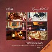 Play & Download Hintergrundmusik: Vol. 1-6 (6 Alben) - Gemafreie Musik zur Beschallung von Hotels und Restaurants [inkl. Klaviermusik zum Entspannen und Träumen] by Ronny Matthes | Napster