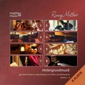 Play & Download Hintergrundmusik: Vol. 1 - 8 (8 Alben) - Gemafreie Musik zur Beschallung von Hotels und Restaurants (Klaviermusik, Jazz & Klassik) by Ronny Matthes | Napster