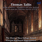 Play & Download Tallis, Gaude Gloriosa - Magnificat And Nunc Dimittis Motets From The Cantiones Sacrae by The Choir Of New College Oxford | Napster