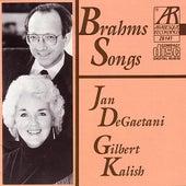 Brahms Songs by Jan De Gaetani/Gilbert Kalish