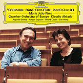 Schumann: Piano Concerto Op.54; Piano Quintet, Op.44 by Maria Joao Pires