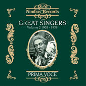 Great Singers Vol. 2 (Recorded 1903-1939) by Various Artists