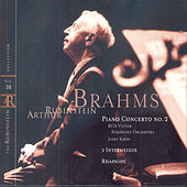 Play & Download Rubinstein Collection, Vol. 38: Brahms: Piano Concerto No. 2; 2 Intermezzos; Rhapsody in G Minor by Arthur Rubinstein | Napster