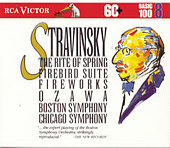 Stravinsky: Rite Of Spring; Firebird Suite; Fireworks / Basic 100, Volume 8 by Various Artists
