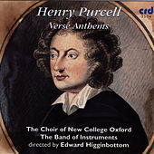 Purcell: Verse Anthems von The Choir Of New College Oxford