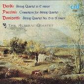 Verdi, Puccini, Donizetti String Quartets by the Alberni Quartet