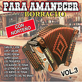 Para Amanecer Borracho Con Norteño, Vol. 3 by Various Artists