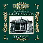 Play & Download Great Singers at the Berlin State Opera by Various Artists | Napster