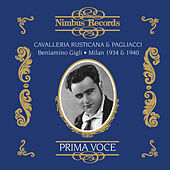 Leoncavallo: Pagliacci (Recorded 1934) - Mascagni: Cavalleria Rusticana (Recorded 1940) by Various Artists