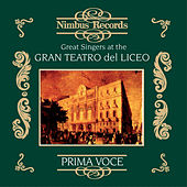 Play & Download Great Singers at the Gran Teatro Del Liceo by Various Artists | Napster
