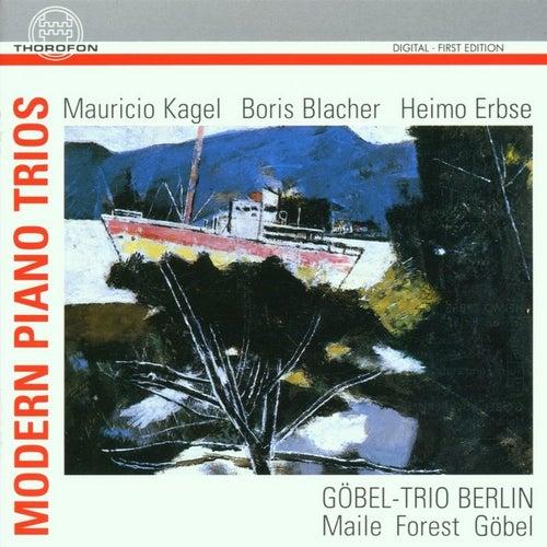 Modern Piano Trios by The Göbel Trio Berlin