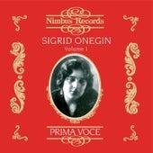 Sigrid Onegin Vol. 1 by Sigrid Onegin