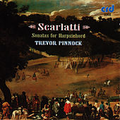 Scarlatii: Sonatas for Harpsichord by Trevor Pinnock