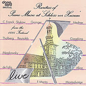 Play & Download Rarities of Piano Music 1994 - Live Recording from the Husum Festival by Various Artists | Napster