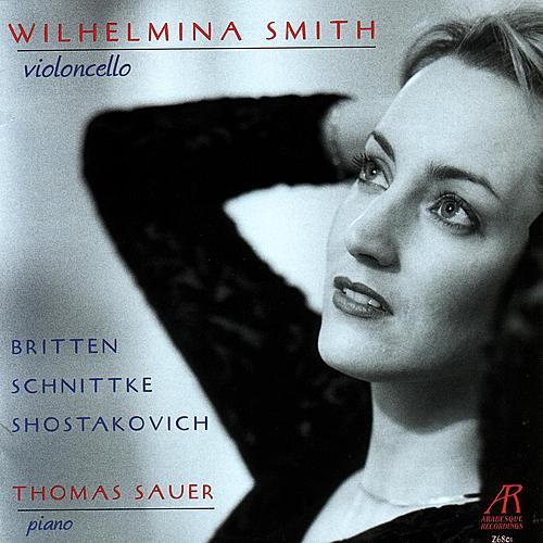 Play & Download Britten, Schnittke & Shostakovich by Wilhelmina Smith | Napster