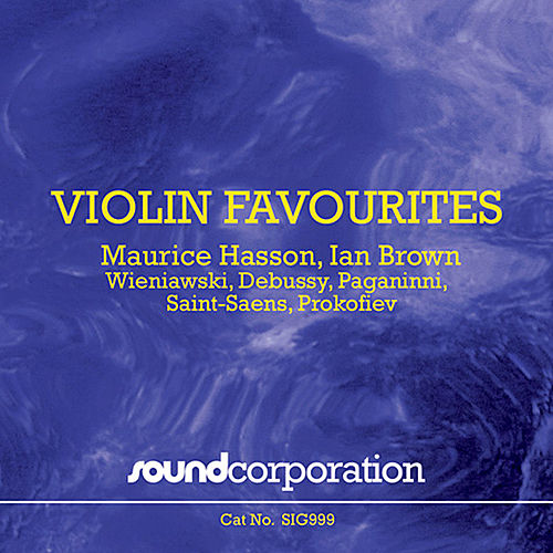 Violin Favourites by Maurice Hasson