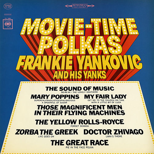 Movie-Time Polkas by Frankie Yankovic