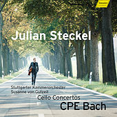 Play & Download C.P.E. Bach: Cello Concertos by Julian Steckel | Napster