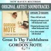 Great Is Thy Faithfulness (Performance Tracks) by Gordon Mote