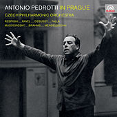 Antonio Pedrotti in Prague by Czech Philharmonic Orchestra