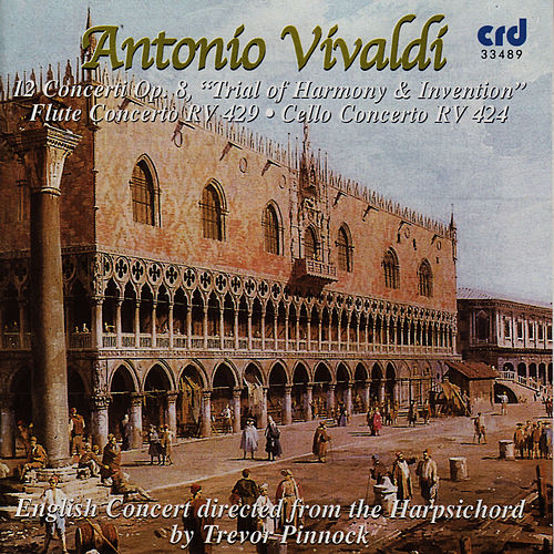 Vivaldi: 12 Concerti Op. 8 'Trial of Harmony & Intervention' by The English Concert