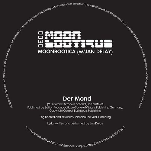 Der Mond by Moonbootica
